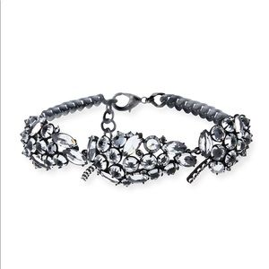 NWOT Lulu Frost Diamanda Crystal Collar Necklace